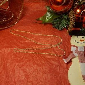 10k yellow gold rope chain